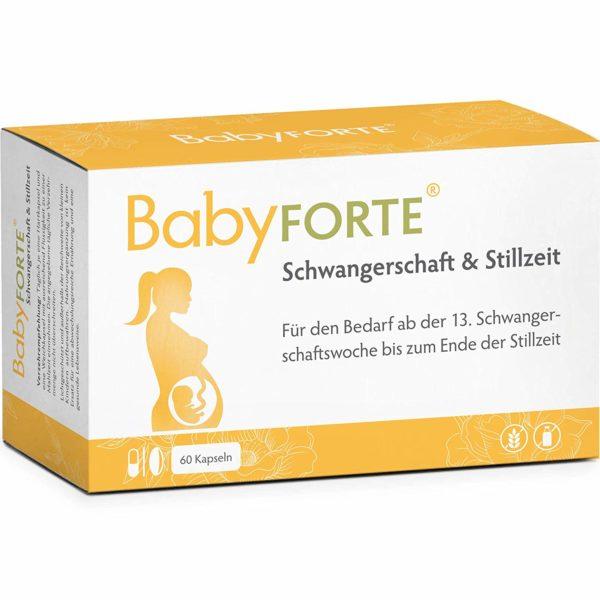 Baby Forte für den Nährstoffbedarf in Schwangerschaft und Stillzeit