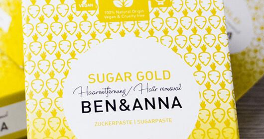 CUCA BY LINDA Ben und Anna Sugar Gold
