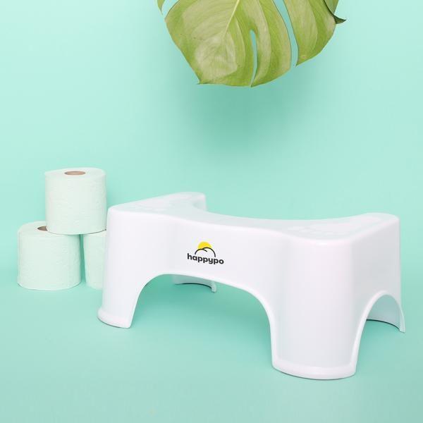Toilettenhocker hilft Verstopfung vorzubeugen