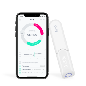 CUCA INTIMA Ovy Thermometer mit App