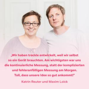 Trackle Zyklustracker Gründer Motivation