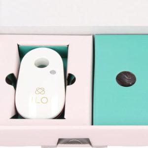 Zyklustracker BREATHE ILO einfache Fruchtbarkeitsanalyse mit Atemluft und Smartphone