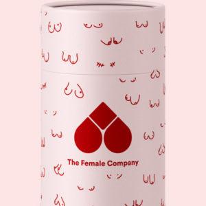 Boobs Design Box Bio Tampons The Female Company CUCA BY LINDA