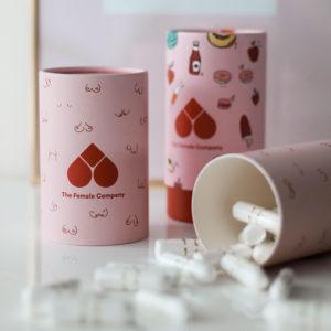 Bio Tampons in Design Box Boobs 42 Stück The Female Company