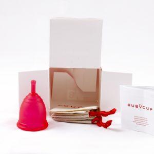 Ruby Cup Menstruationstasse mit Spende