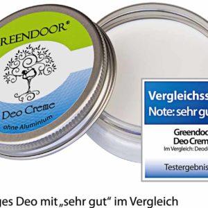 Deo Creme ohne Aluminium CUCA BY LINDA