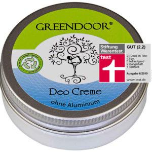Deocreme nachhaltig biologisch Greendoor CUCA